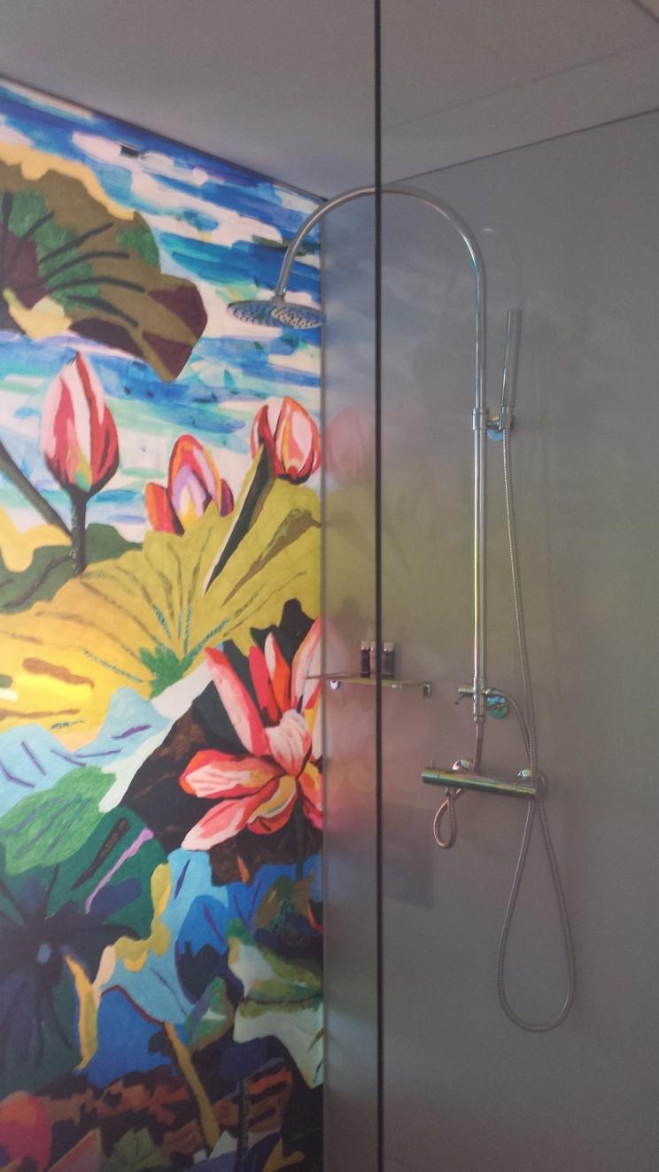 Dusche von Innen art'otel