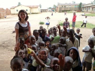 Kerstin im Kongo