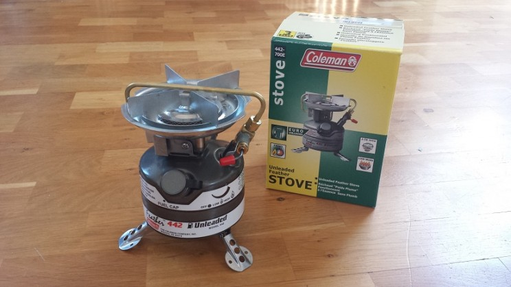 Coleman Stove for Unleaded Fuel