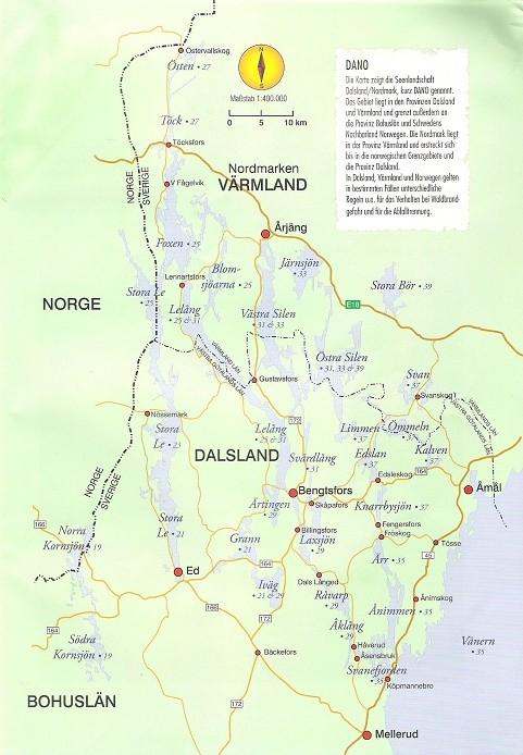 Dalsland-Nordmarken Sweden