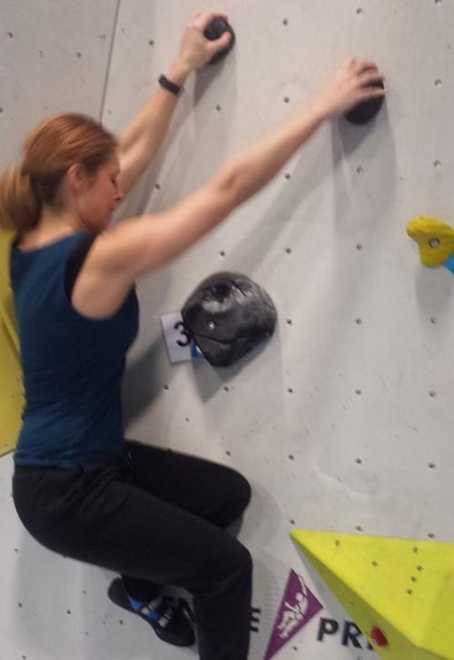 Bouldern - kein Anfänger-Sport